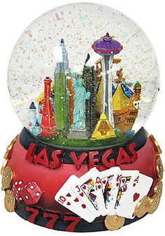 The scene of Vegas includes the following hotels and casinos: - Excalibur - Paris - New York, New York - Luxor - Stratosphere - Treasure Island