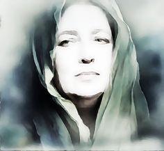 BELLA DONNA digital art - self-portrait - BELLA DONNA digital art - self-portrait