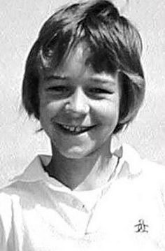 when they were kids: russell crowe