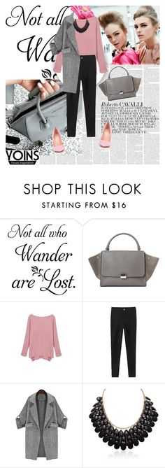 """""""Yoins 28/1"""" by worldoffashionr ❤ liked on Polyvore featuring CÉLINE, Gianvito Rossi, women's clothing, women, female, woman, misses, juniors and yoins"""