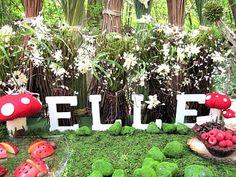 Una fiesta en un bosque encantado// Olive Parties: Real Parties: Woodland Fairy Birthday Party