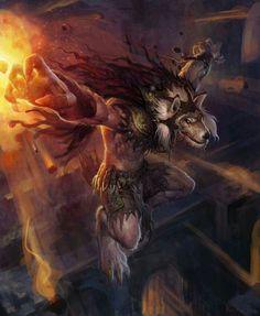 Werewolf Wizard