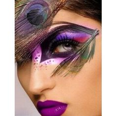 Peacock Makeup Ideas