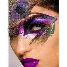 Peacock Makeup Ideas