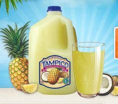 Bestest Drink Ever: Tampico Pineapple Coconut