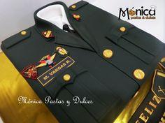 DETALLE DE TORTA MILITAR PNP elaborado por MONICA PASTAS Y DULCES