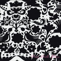 Alexander Henry Folklorico LaPaloma Black [AH-DE7593-D] - $10.45 : Pink Chalk Fabrics is your online source for modern quilting cottons and sewing patterns., Cloth, Pattern + Tool for Modern Sewists