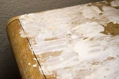 Removing Black Stains in Wood Furniture With Oxalic Acid: 6 Steps (with Pictures) Oxalic Acid, Wood Refinishing, Water Paper, Floor Stain, Dark Wood Stain, Steel Wool, Rusty Metal, Black Stains, Raw Wood