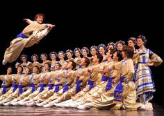 The Hopak. The national dance of Ukraine.