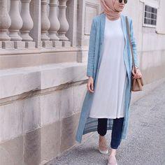 Style hijab casual jeans scarfs Ideas for 2019 Hijab Fashion Summer, Modern Hijab Fashion, Abaya Fashion, Muslim Fashion, Modest Fashion, Fashion Outfits, Style Fashion, Modest Wear, Modest Dresses