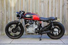 ϟ Hell Kustom ϟ: Honda CX500 By Double Barrel Garage