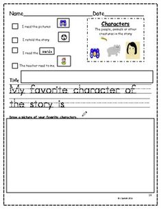 Worksheet Identifying Story Elements Worksheet story elements and worksheets on pinterest element posters for kindergarten revised 5 00 packet i like this