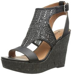 Lucky Women's Laffertie Wedge Sandal, Black, http://www.amazon.com/gp/product/B00PC14GVG/ref=as_li_tl?ie=UTF8&camp=1789&creative=9325&creativeASIN=B00PC14GVG&linkCode=as2&tag=pinwedgesgrey-20&linkId=2S7NOKC6RZWTQFGR