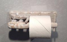Driftwood toilet roll holder Art. Sculpture by COASTLINECRAFTS, £16.50