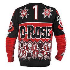 Derrick Rose, Chicago Bulls Red and Black
