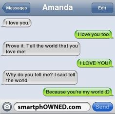 The 13 Most Adorably Cute Relationship Texts - Autocorrect Fails and Funny Text Messages - SmartphOWNED