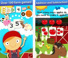 FREE app (reg 2.99) Skills on the Farm:  Counting, Shapes, Colors, Groups, Sequences, Patterns and Math Games