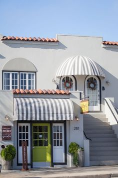 Awnings. http://www.designsponge.com/2014/06/muted-colors-calm-and-relaxed-in-monterey-california.html