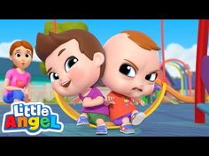 Yes Yes Play Nice At The Playground | Good Manners Song | Little Angel Kids Songs - YouTube Angel Kids, Good Manners, Flourless Chocolate Cakes, Indian Curry, Kids Songs, Curries, Playground, Sony, Nice
