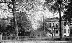 Seen from Dudley Road, the house on the right was Monson House and on the left Monson Place. Both demolished to make way for the Opera House. Camden Road, Tunbridge Wells, Make Way, Mount Pleasant, Roads, Old Photos, Opera House, Broadway, London
