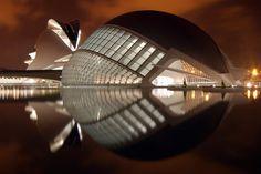 CIUDAD DE LAS ARTES Y LAS CIENCIAS  VALENCIA / SPAIN / 1996    Santiago Calatrava #architecture
