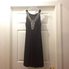 Nic&Dom Dresses & Skirts - Nic&Dom embellished little black sleeveless ...