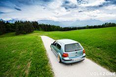 VW Golf Mk4 - BBS Rennsport (Porsche Cup)