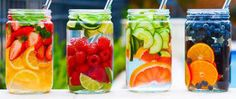 Detox waters for surviving holidays