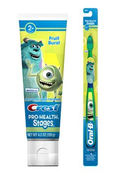 Crest & Oral-B Pro-Health Stages Monsters University Products GIVEAWAY!
