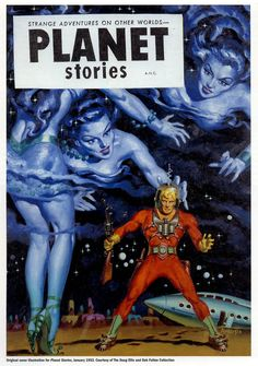 Planet Stories, pulp, sci fi