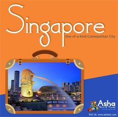 Experience a Collage of Cultures in this One-of-a-kind Cosmopolitan City, Embark on an Enriching Journey in Singapore!! Visit Us: www.ashatat.com #AshaTours #Travels #Singapore #City #Cultures #Experience #Enriching #Journey