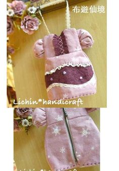 wonderland22 handmade: dress bag mini 洋裝小袋