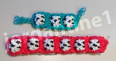 New Soccer Ball Sports Bracelet - Advanced - Rainbow Loom, Wonder Loom Tutorial by Jordantine1