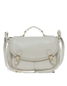 Ameko Leather Slouch Shoulder Bag
