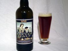 Cerveja Founders Curmudgeon's Better Half, estilo Old Ale, produzida por Founders Brewing, Estados Unidos. 11.9% ABV de álcool.