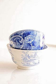 Blue and White Bowls