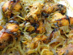 Greek styled Baked chicken by Mahua Dey