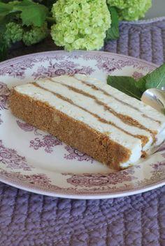 On dine chez Nanou | Semifreddo croustillant au citron vert ou dessert glac� bluffant | Voil� un dessert bluffant , sans cuisson: jus de citron vert , lait concentr� sucr� , cr�me fra�c...