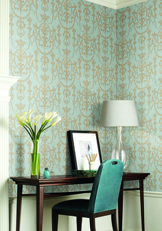 Riverside: Our delicate florals add warmth and an opulent touch to any scheme.