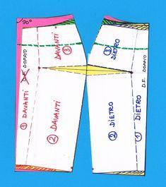 Gonna a tubino (ottava parte) – Violeta Colcer Dress Patterns, Sewing Patterns, Pattern Drafting, Body Shapes, Dressmaking, Knitting, Womens Fashion, Fashion Design, Handmade