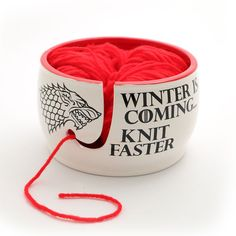 Game of Thrones hiver est venue plus rapide bol filé par LennyMud