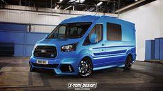 8 Weirdly Cool Sporty Vans That Don't Exist But Should - Car Art Mercedes Sprinter Camper, Sprinter Van, Hot Rod Trucks, Cool Trucks, Ford Transit Camper, Sports Wagon, Fiat Ducato, 4x4, Rims For Cars