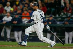 43013416e75 Robinson Cano of the Seattle Mariners singles in the fourth inning against  the Houston Astros at Safeco Field on September 2015 in Seattle