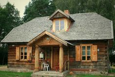 Cabin Homes, Cottage Homes, Log Homes, Mansions Homes, Stone Houses, Warm And Cozy, Tiny House, Outdoor Living, House Styles