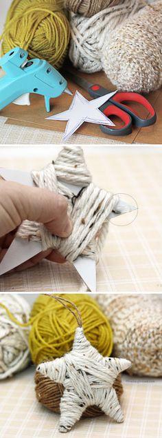 Yarn Wrapped Star
