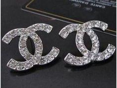 Cly Stud Cc Rhinestone Earring Chanel Ring Earrings Jewelry