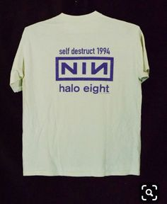 Nine Inch Nails - 1994 - The Downward Spiral tour 02 Vintage Band Shirts, Vintage Shirts, Nine Inch Nails, Concert Shirts, Band Tees, Spiral, Mens Tops, Stuff To Buy, Graphics