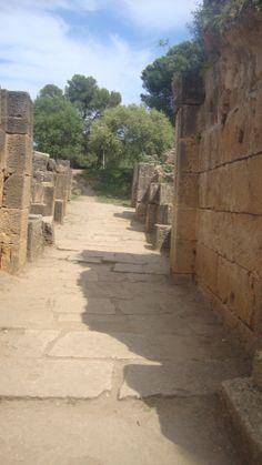 Roman ruins in Algeria, Tipasa