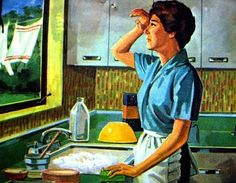 I know the feeling. The dishes never end.