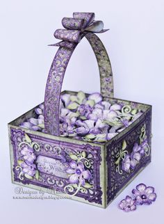 Designs by Marisa: Special Wishes Flower Basket